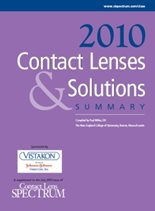 2010 Contact Lenses & Solutions Summary
