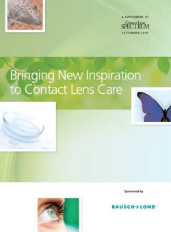 Bringing New Inspiration to Contact Lens Care