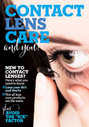 CONTACT LENS CARE and you!
