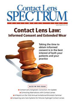 prescribing guidelines for myovision lenses