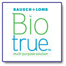 Biotrue™ multi-purpose solution – makes wearing contact lenses easier on your patients eyes.