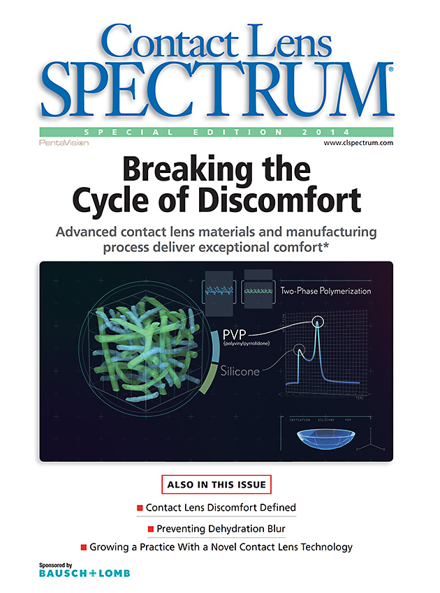 Contact Lens Spectrum Special Edition 2016: Breaking the Cycle of Discomfort